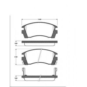 BREMSSCHEIBEN 240mm + BELÄGE VORNE für NISSAN SUNNY 3 III Traveller (Y10) Pic:1