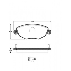 2 BREMSSCHEIBEN 300mm + BELÄGE VORNE BREMSEN FORD MONDEO III JAGUAR X-TYPE Pic:2