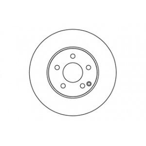 KLASSE DF4863S 2x TRW Bremsscheiben vorne belüftet 295mm für MERCEDES-BENZ C