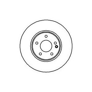BREMSSCHEIBEN 300mm + BELÄGE VORNE MERCEDES C-KLASSE W203 CLK C209 A209 SLK R171 Pic:1