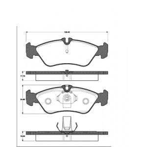2 BREMSSCHEIBEN 272mm + BELÄGE HINTEN MERCEDES SPRINTER 903 3-T VW LT35 Pic:2
