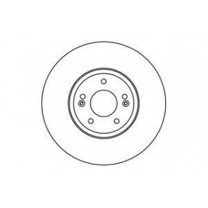 Bremsscheiben Satz belüftet 321mm Hyundai Santa FE II 2 CM 2.2 CRDi 2.7 V6