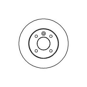 bremsscheiben + belÄge hinten opel astra g 4-loch