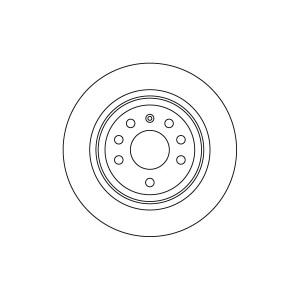 BREMSSCHEIBEN 292mm BELÜFTET + BELÄGE HINTEN OPEL VECTRA C + SIGNUM Pic:1