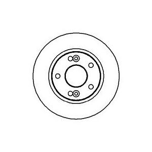 BREMSSCHEIBEN 280mm + BELÄGE VORNE RENAULT ESPACE 3 III  [JE] Pic:1