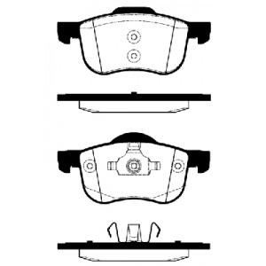 2 BREMSSCHEIBEN 305mm + BELÄGE VORNE VOLVO S60 S80 V70 XC70 AB 1998 16 ZOLL Pic:2