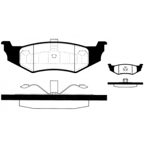 2 BREMSSCHEIBEN 270mm + BELÄGE HINTEN CHRYSLER PT CRUISER +  NEON (PL) Pic:2