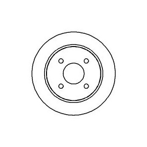 bremse bremsscheiben bremsbel ge vorne hinten ford. Black Bedroom Furniture Sets. Home Design Ideas