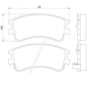 bremsscheiben bel ge va ha mazda 6. Black Bedroom Furniture Sets. Home Design Ideas