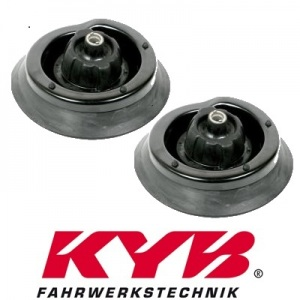 2 KAYABA FEDERBEINLAGER DOMLAGER VORNE MERCEDES C-KLASSE W203 S203 CL203 + CLK