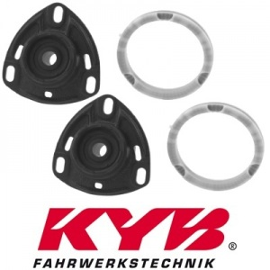 2 KAYABA FEDERBEINLAGER DOMLAGER VORNE AUDI 100 AVANT + A6 AVANT + V8 quattro
