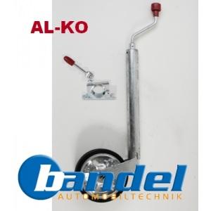 ALKO AL-KO STÜTZRAD PLUS 300 kg + KLEMMHALTER 48 mm ANHÄNGER WOHNWAGEN
