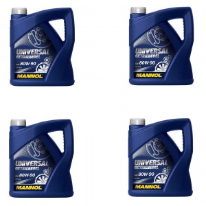 [2,91€/L] 16 Liter SAE 80W-90 API GL-4/ GL4 Mannol Universal Getriebeöl