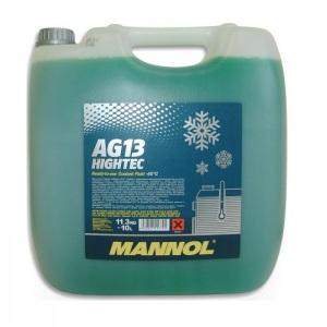 [1,79€/L] 10 Liter MANNOL AG13 GRÜN bis -40°C KÜHLERFROSTSCHUTZ KÜHLMITTEL