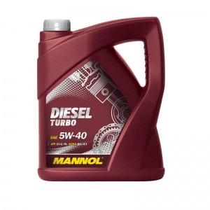 [4,10€/L] 5 LITER MANNOL MOTORÖL ÖL 5W-40 DIESEL TURBO VW 502.00 / 505.00