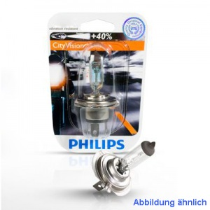 PHILIPS H4 CITY VISION MOTO GLÜHLAMPE LAMPE -12342CTV-