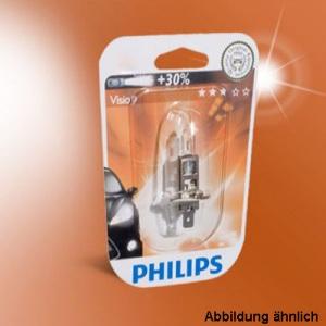 PHILIPS H7 Vision +30% mehr Licht 12 V / 55 W Glühlampe Autolampe KFZ