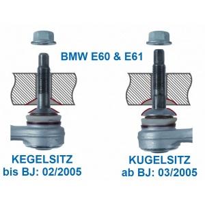 QUERLENKER HINTEN RECHTS OBEN LÄNGSLENKER BMW 5er E60 E61 6er E63 7er E65 E66 Pic:1