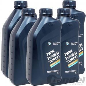 [9,38€/L] 5x 1 LITER BMW ORIGINAL MOTORÖL 0W-30 TWIN POWER TURBO LONGLIFE 04 LL