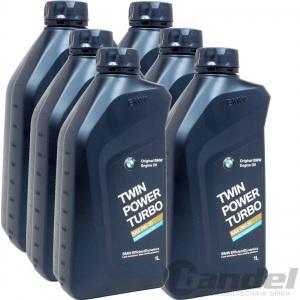 [12,78€/L] 6x1 LITER BMW ORIGINAL MOTORÖL 0W-30 TWIN POWER TURBO LONGLIFE 04