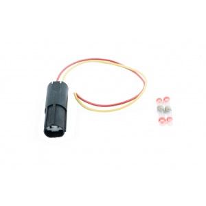 Bremslicht Licht Renault Kangoo Reparatur Stecker 2-polig Kennzeichenleuchte 3