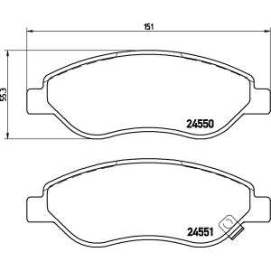 textar bremsscheiben 278mm bremsbel ge opel corsa d 1 7. Black Bedroom Furniture Sets. Home Design Ideas