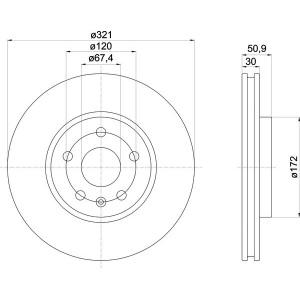textar bset vorne opel insignia 321mm. Black Bedroom Furniture Sets. Home Design Ideas