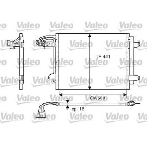 VALEO KONDENSATOR KLIMAANLAGE VW TOURAN CADDY II 1.4. - 2.0