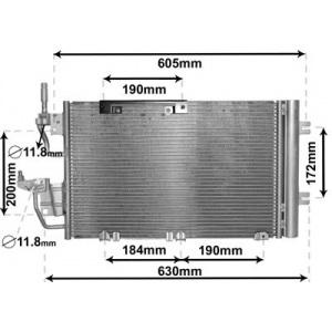 VAN WEZEL Kondensator, Klimaanlage 37005454