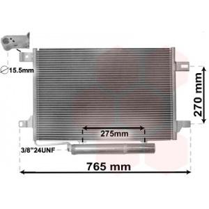 VAN WEZEL Kondensator, Klimaanlage 30005382
