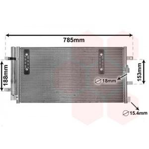 VAN WEZEL Kondensator, Klimaanlage 03005297