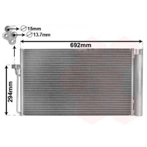 VAN WEZEL Kondensator, Klimaanlage 06005273