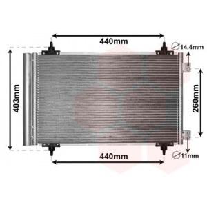 VAN WEZEL Kondensator, Klimaanlage 09005263