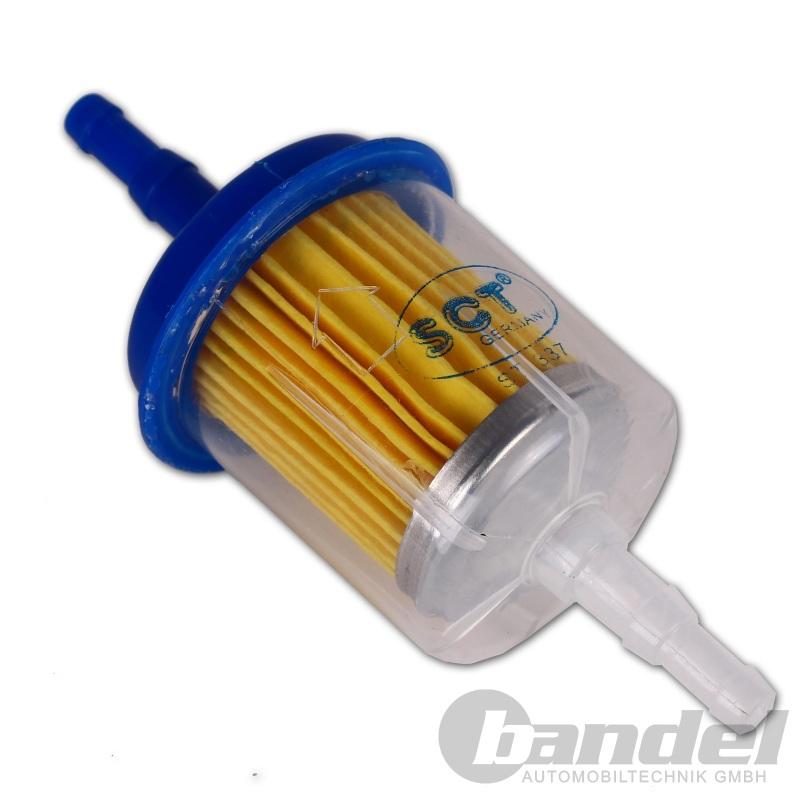 Diesel Kraftstofffilter Universal Leitungsfilter Filter Heizöl 8//10mm