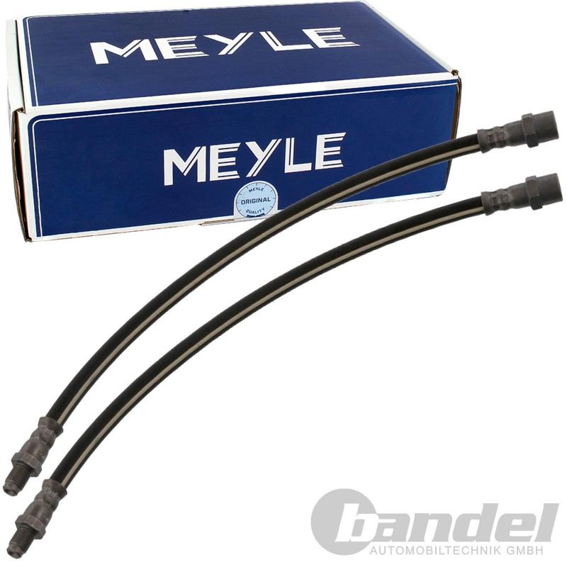 2x MEYLE BREMSSCHLAUCH MERCEDES /8 S-KLASSE W116 SL R107 MERCEDES T1 BUS
