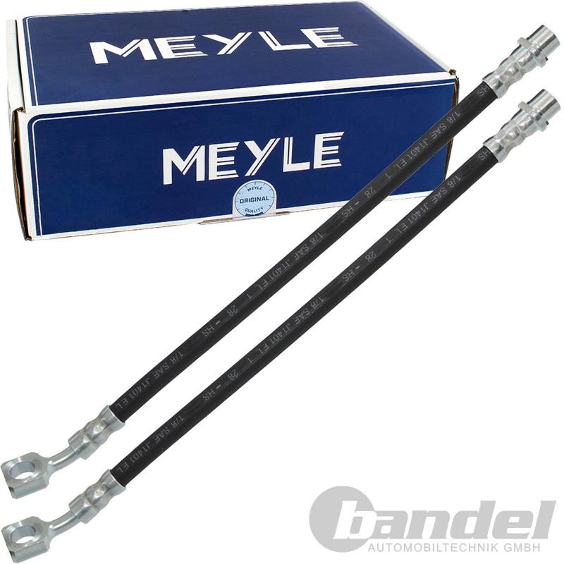2x MEYLE BREMSSCHLAUCH VORNE MINI ONE + COOPER + S + WORKS R50 R52 R53 R56