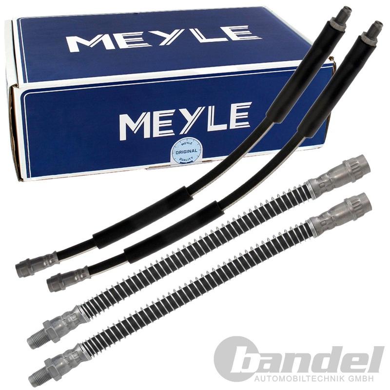 4x MEYLE BREMSSCHLAUCH VORNE + HINTEN MERCEDES E-KLASSE W211 CLS C219