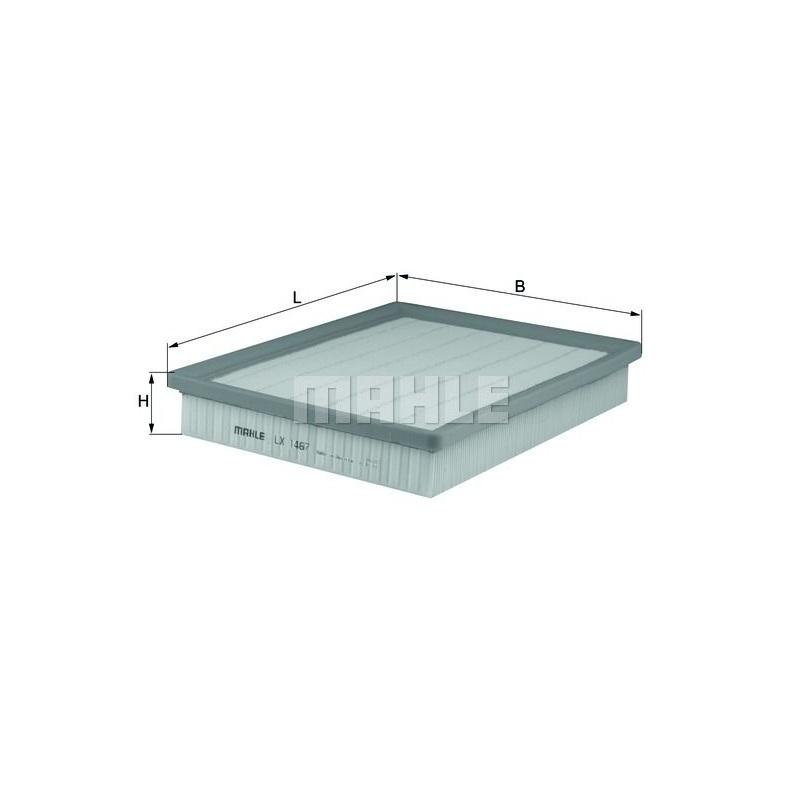 MAHLE / KNECHT LUFTFILTER FÜR OPEL VECTRA C SAAB 9-3 1.8 t 2.0 2.8