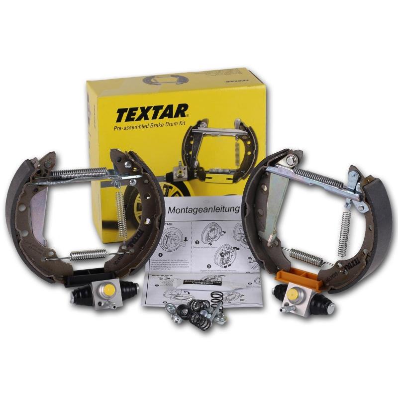 TEXTAR BREMSBACKEN-KIT PRO HINTEN   84044400  Audi VW