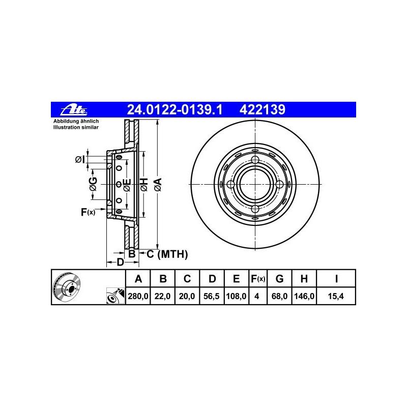 TEXTAR 92060600 Bremsscheibe Set of 2