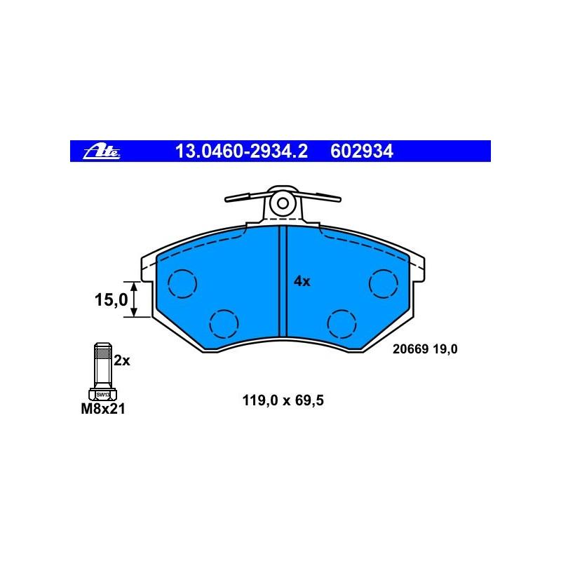 2x TRW Bremsscheiben vorne Belüftet 280mm Für AUDI 80 CABRIOLET DF2601