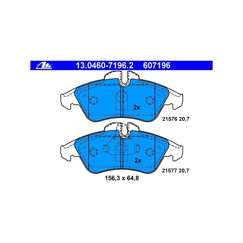 ATE Warnkontakt Bremsbelagverschleiß MERCEDES-BENZ SPRINTER 2-t Bus 901 902