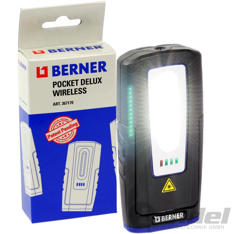 Laden Pocket Technologie Wireless Delux Led Lampe Qi Berner Akku Kabellos tCsxhQdBr