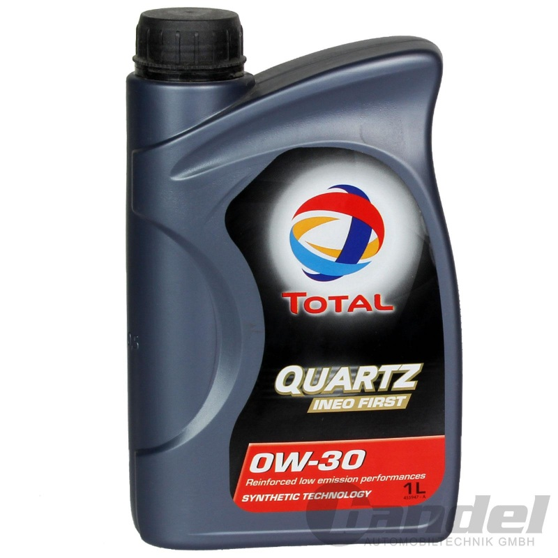 1L TOTAL QUARTZ INEO FIRST 0W-30 1Liter PEUGEOT CITROEN B71 2312 B71