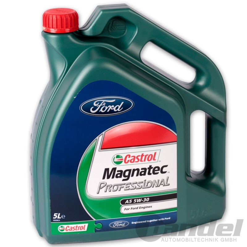 5 liter castrol magnatec professional a5 5w 30 l ford wss m2c913 c. Black Bedroom Furniture Sets. Home Design Ideas