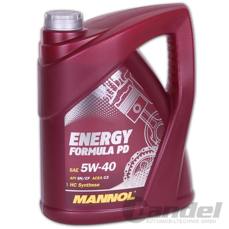 Vollsynthetisches Motoröl für Pumpe Düse Motoren 5W40 C3, 5 Liter