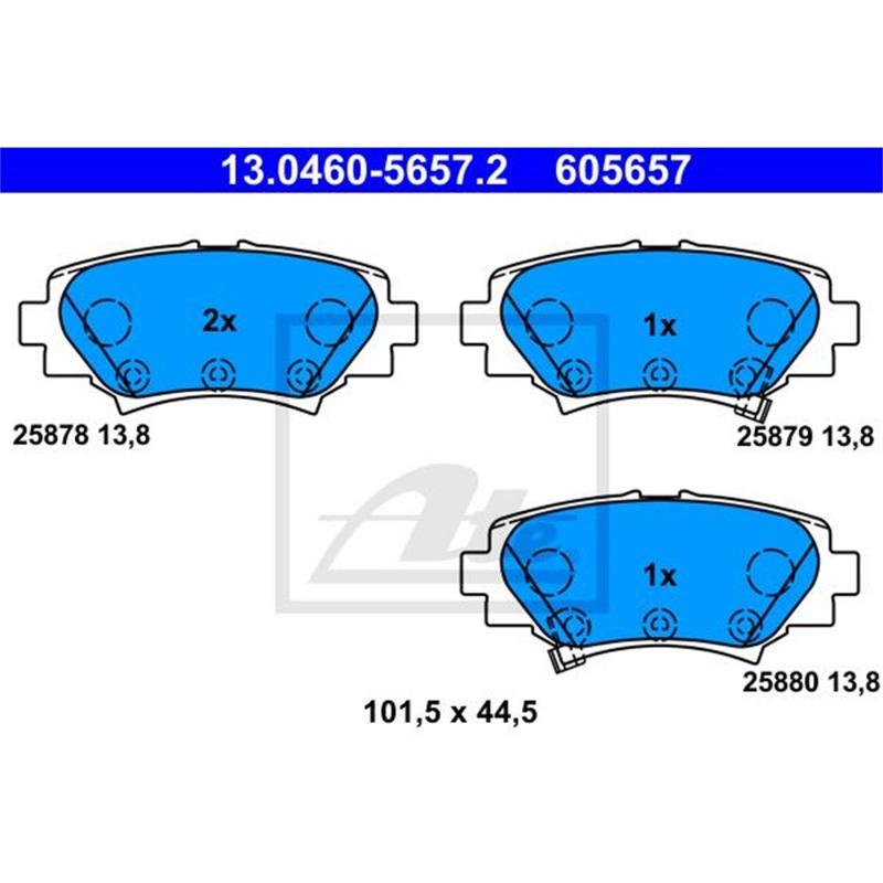 AHK starr Für Mazda 2 DY ab 04.2003-09.2007+E-SATZ 13p FAHRZEUGSPEZIFISCH