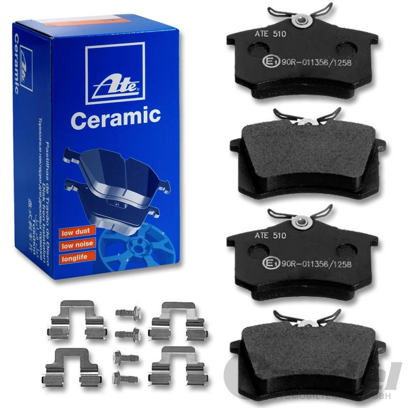 ATE Ceramic Bremsbeläge hinten Audi Seat Skoda VW