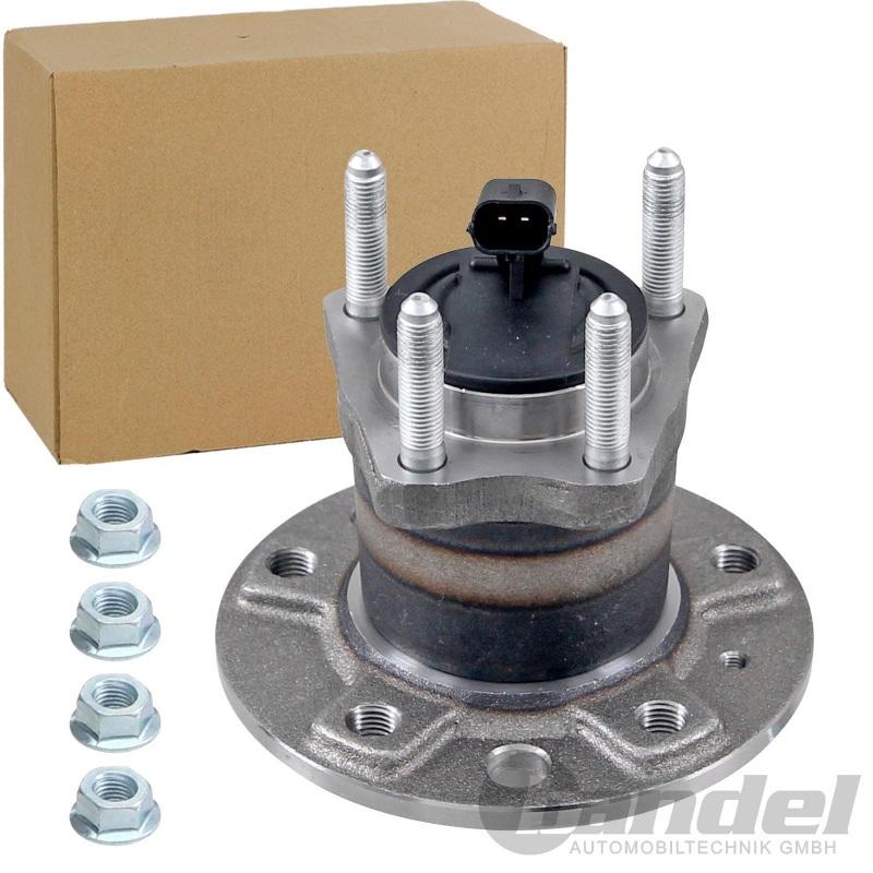 RADLAGER-SATZ RADNABE 5-LOCH MIT ABS für Opel ASTRA G COMBO MERIVA ZAFIRA HINTEN