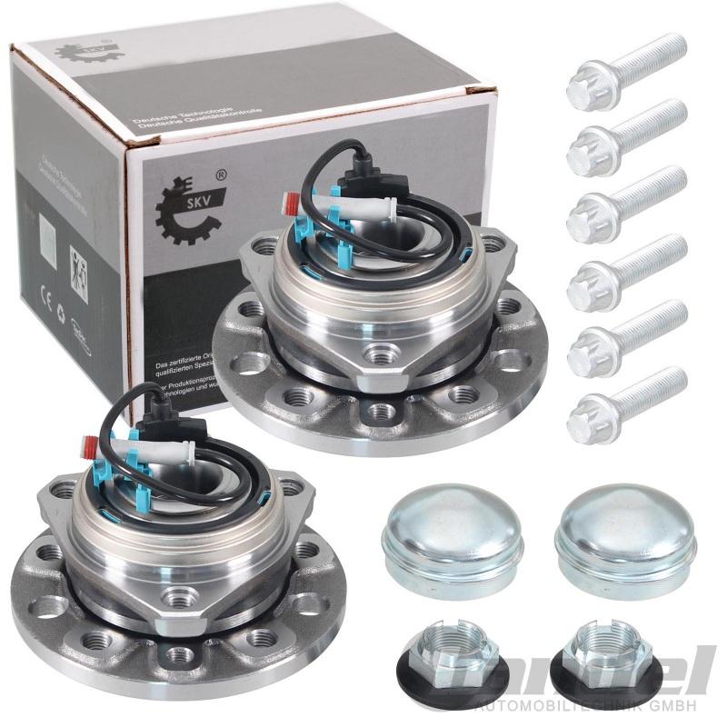 Opel Zafira B Radnabe Radlager Satz mit Abs Sensor Kabel für vorne*